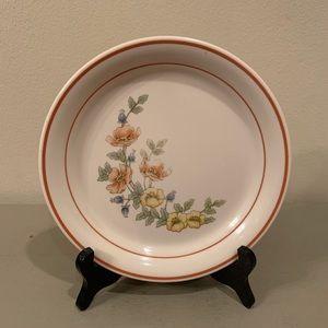 Four vintage cornerstone royal garden plates